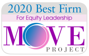 2020 Best Firm for Equity Leadership MOVE Project Logo